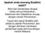 apakah anda seorang buddhis sejati8