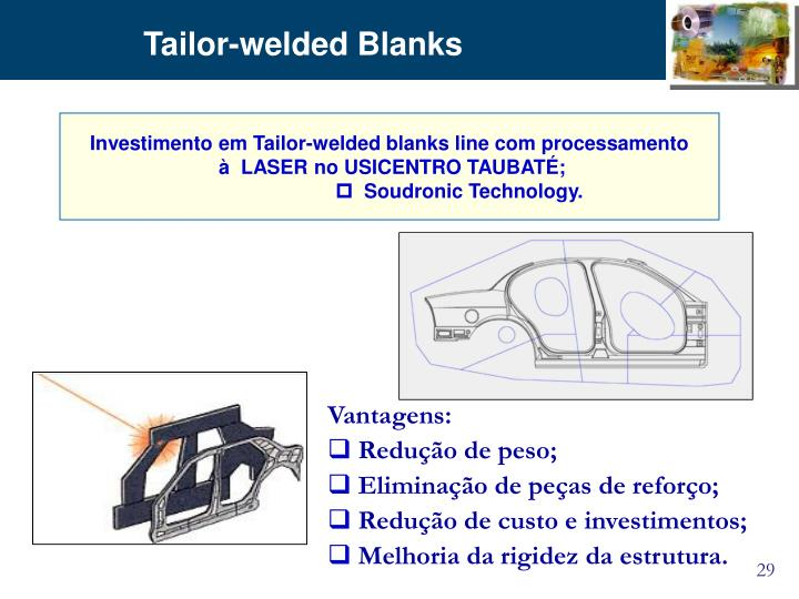 Tailor-welded Blanks