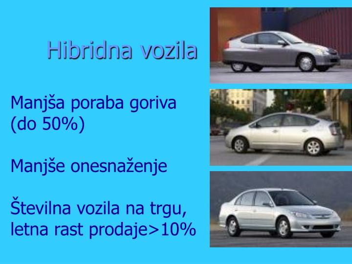 Hibridna vozila