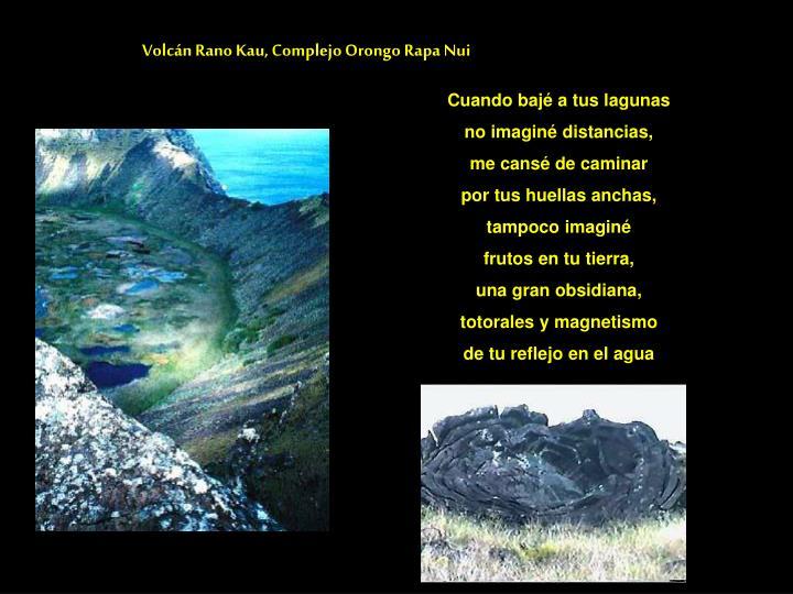 Volcán Rano Kau, Complejo Orongo Rapa Nui