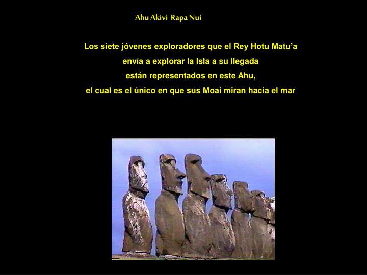 Ahu Akivi  Rapa Nui
