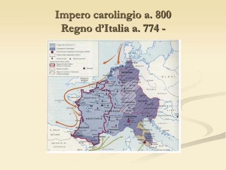Impero carolingio a. 800