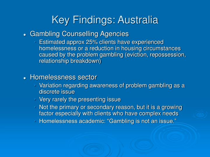 Key Findings: Australia