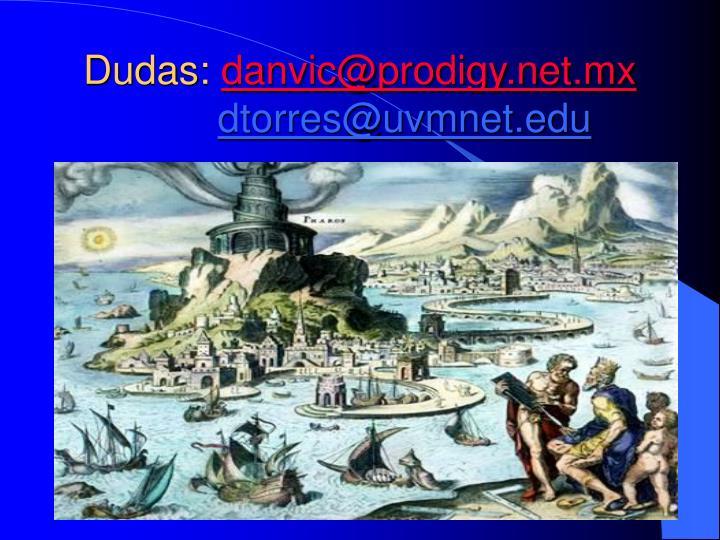 Dudas: