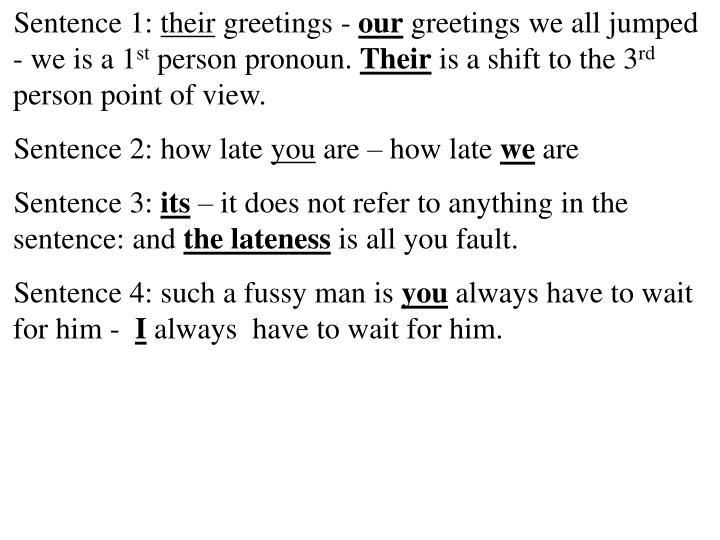 Sentence 1: