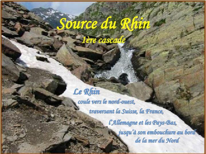 Source du Rhin