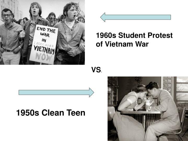 1960s Student Protest of Vietnam War