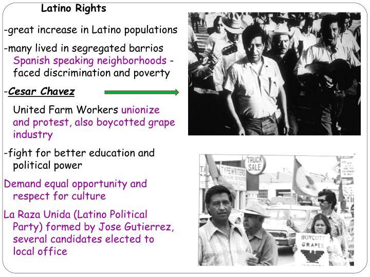 Latino Rights