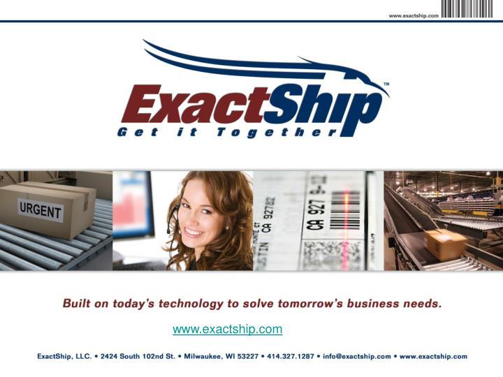www.exactship.com