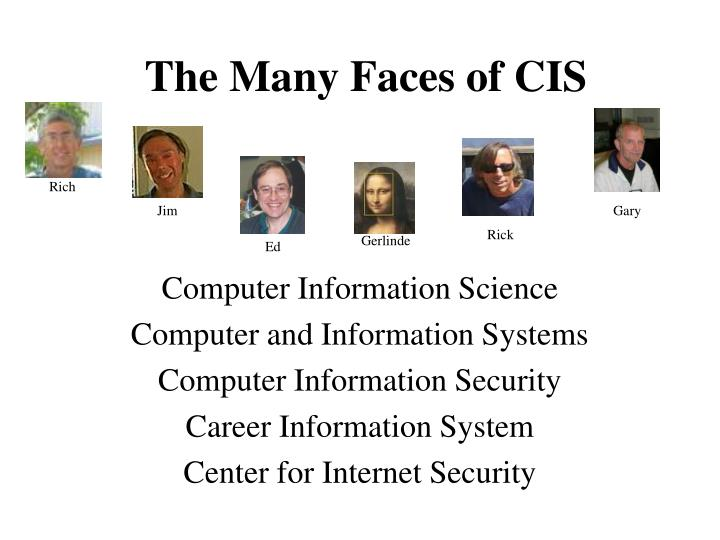 the many faces of cis