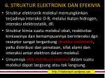 6 struktur elektronik dan efeknya
