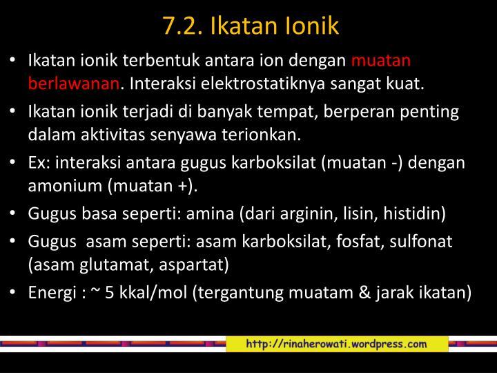 7.2. Ikatan Ionik