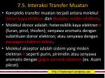 7 5 interaksi transfer muatan
