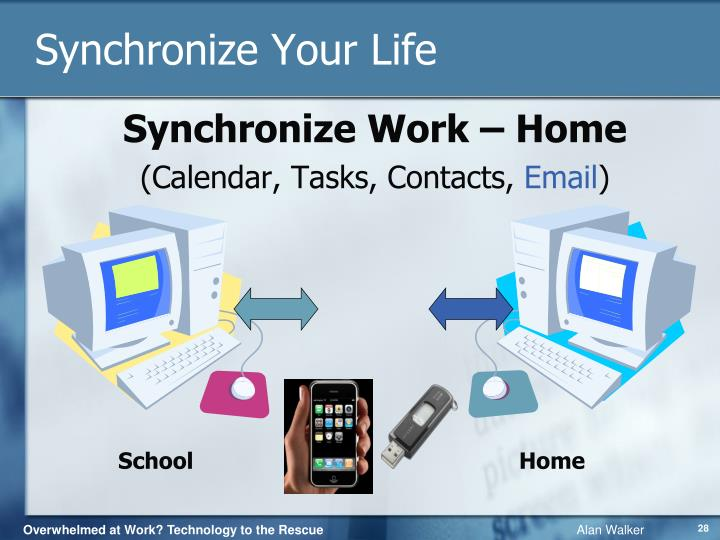 Synchronize Your Life