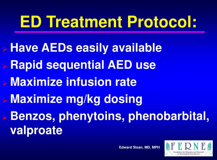 ED Treatment Protocol:
