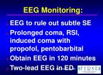 eeg monitoring