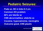 pediatric seizures