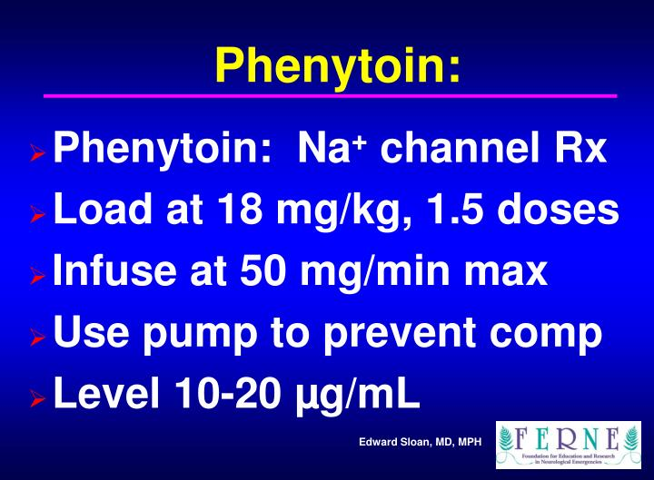 Phenytoin: