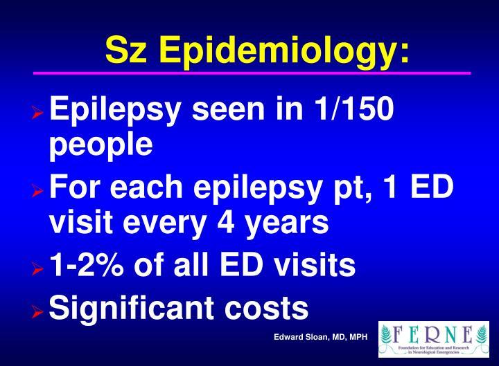 Sz Epidemiology: