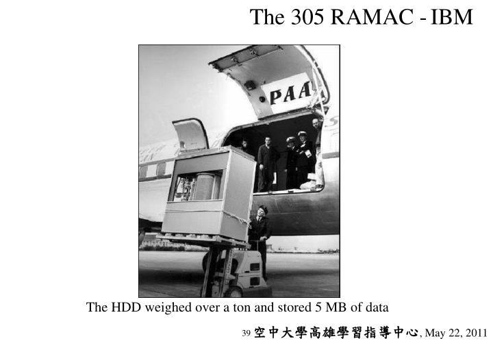 The 305 RAMAC -