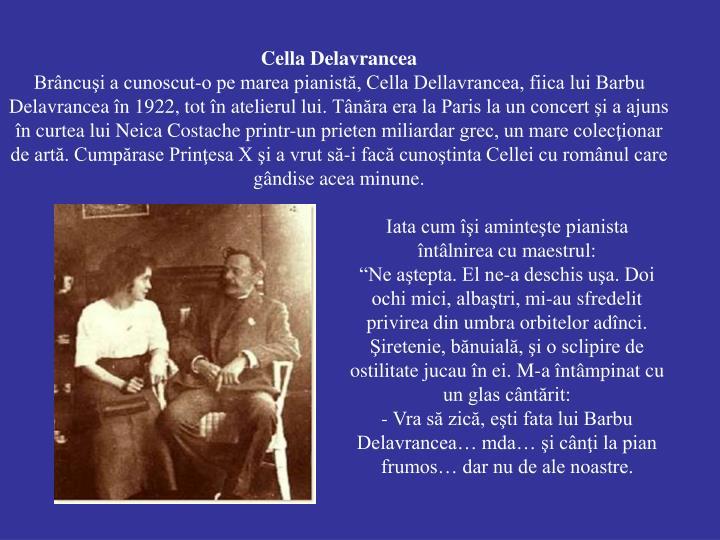 Cella Delavrancea