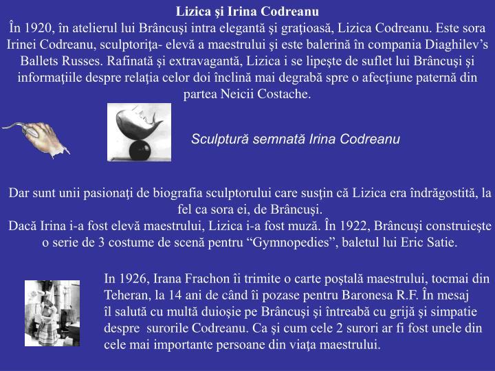 Lizica şi Irina Codreanu