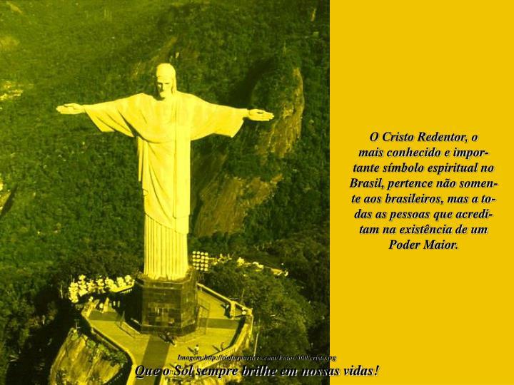 O Cristo Redentor, o