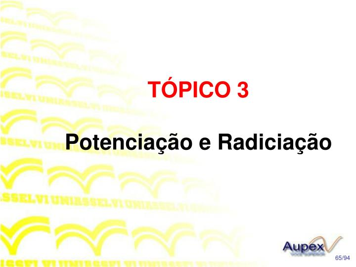 TÓPICO 3