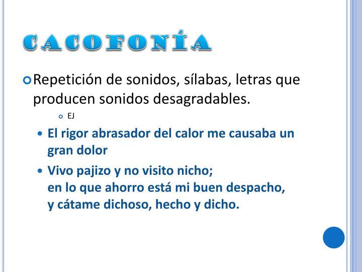 cacofona