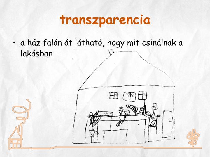 transzparencia