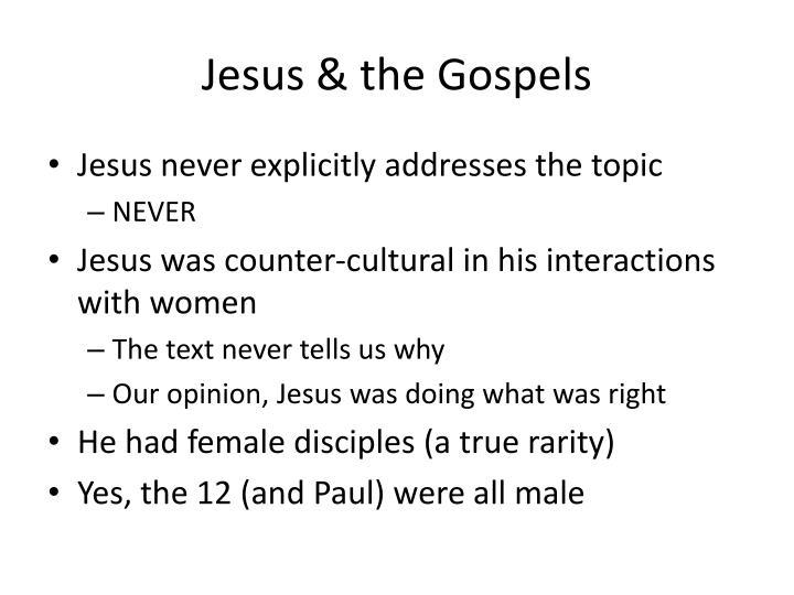 Jesus & the Gospels