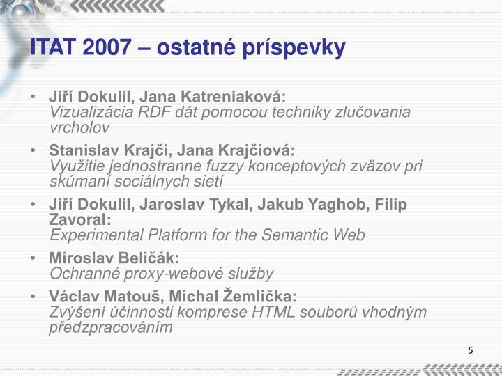 ITAT 2007