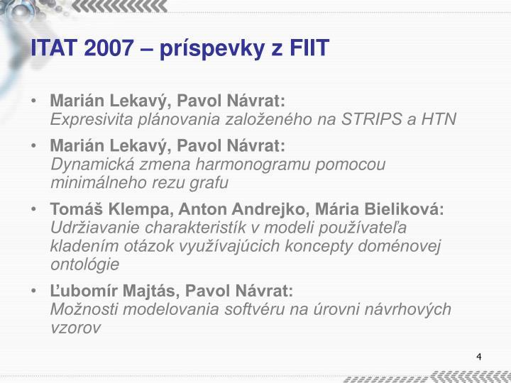 ITAT 2007 –