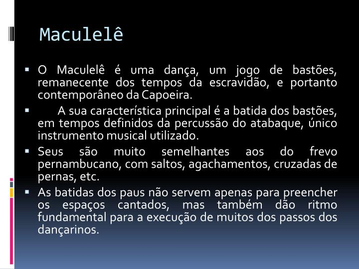 Maculelê