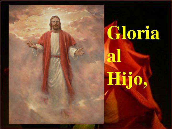 Gloria  al  Hijo,