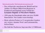internationaler informationsaustausch