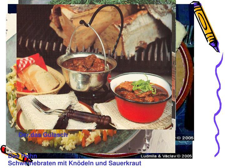 Über Tschechische Küche