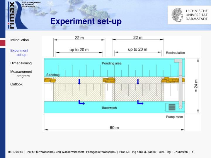 Experiment set-up