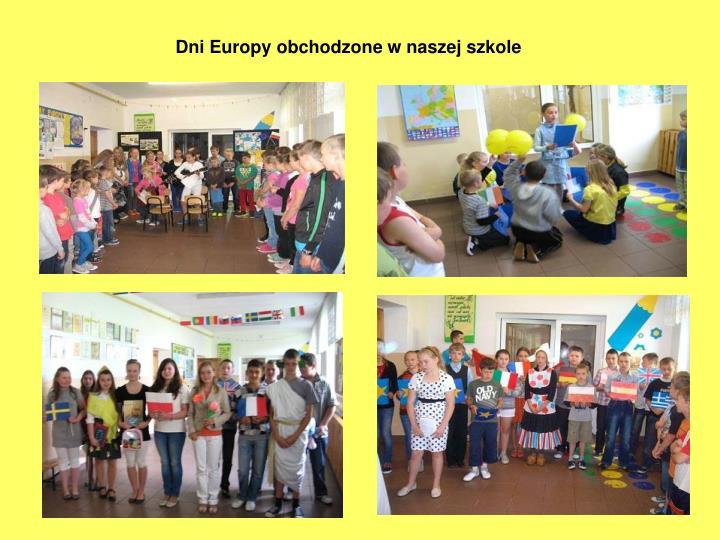 Dni Europy obchodzone w naszej szkole