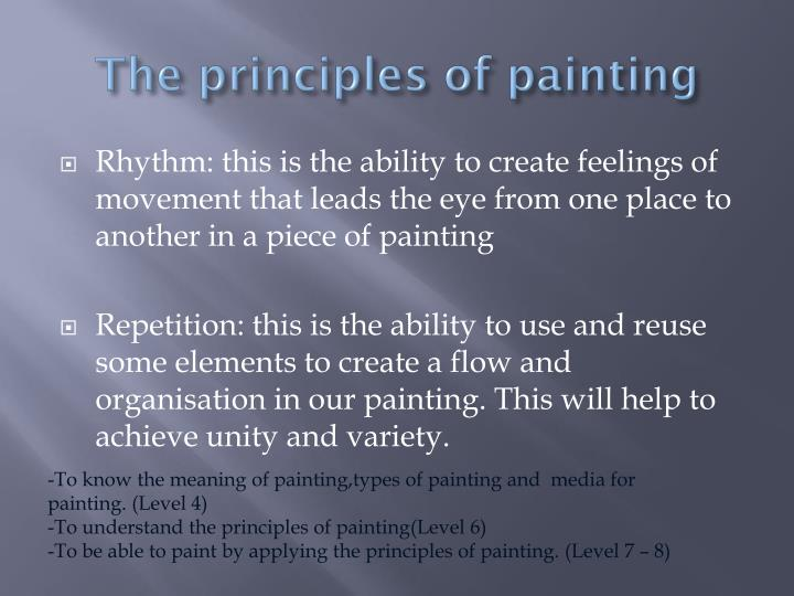 The principles of painting