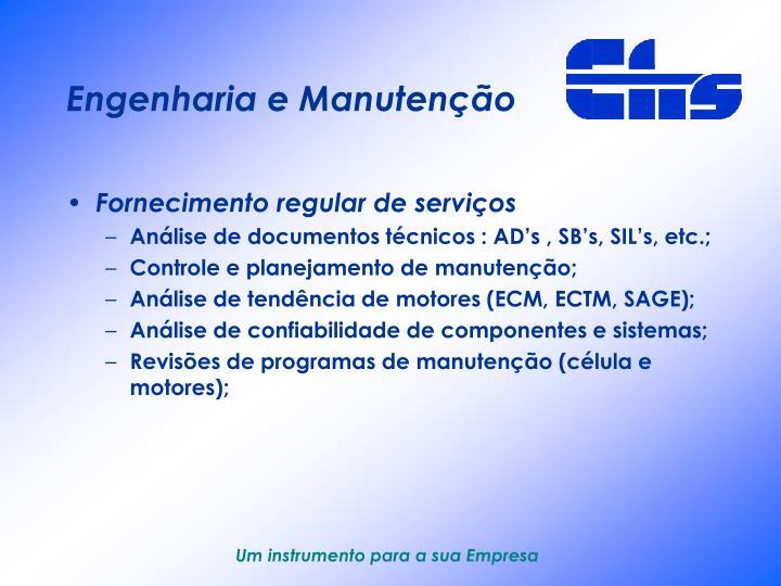 Engenharia e Manutenção