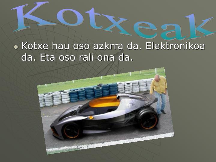 Kotxeak