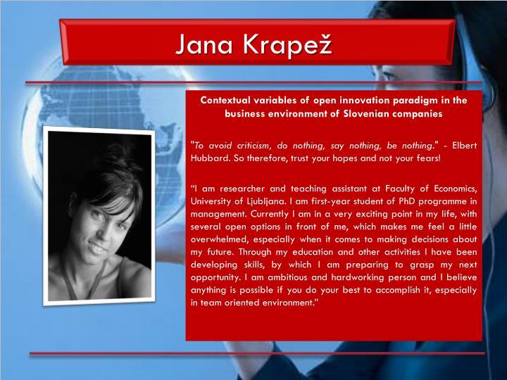 Jana Krapež