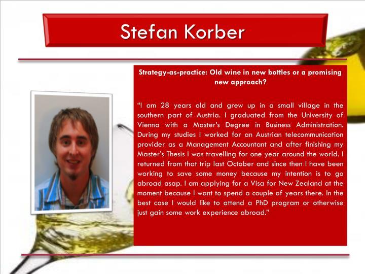 Stefan Korber