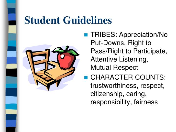Student Guidelines