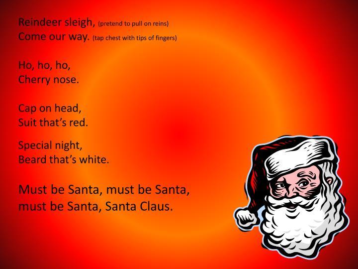 Reindeer sleigh,