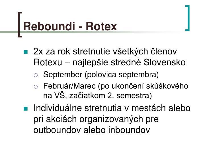 Reboundi - Rotex