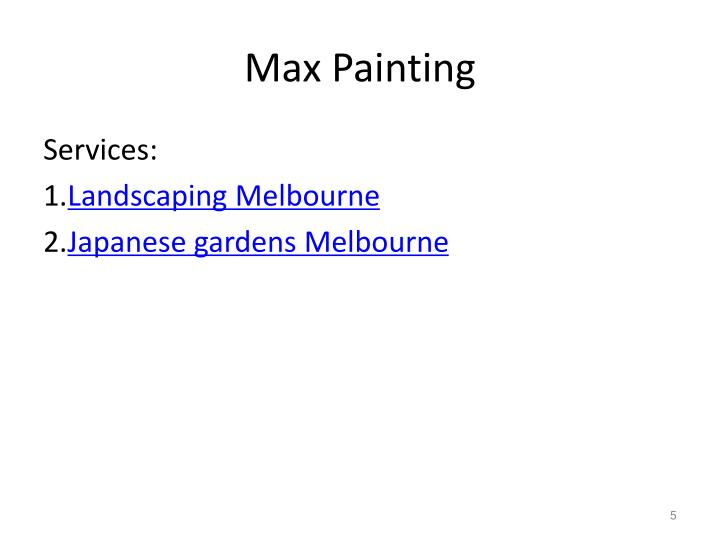 Max Painting