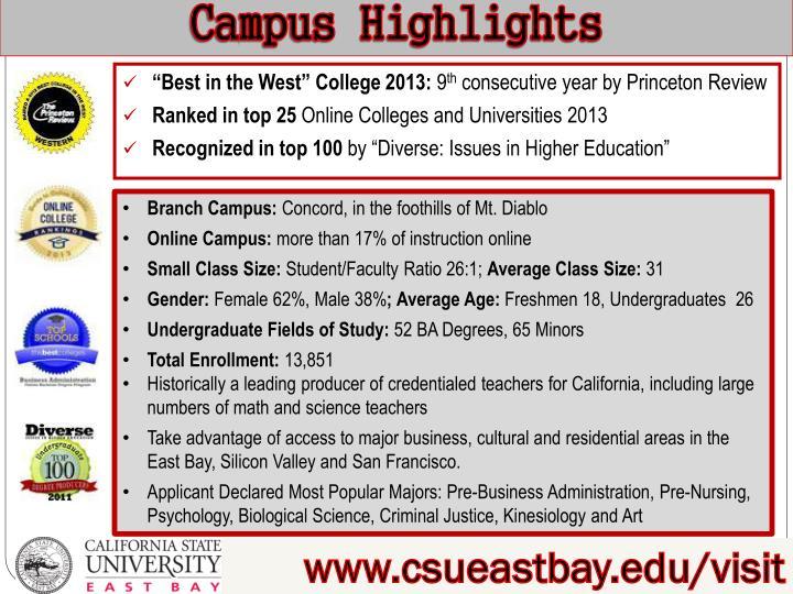 Campus Highlights
