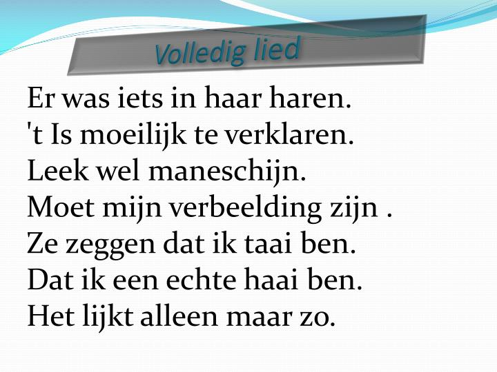 Volledig lied